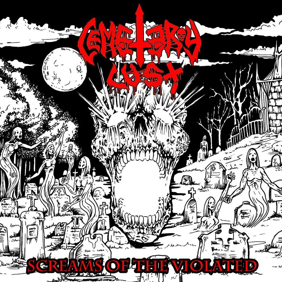 """CD review CEMETARY LUST """"Screams of the Violated"""""""