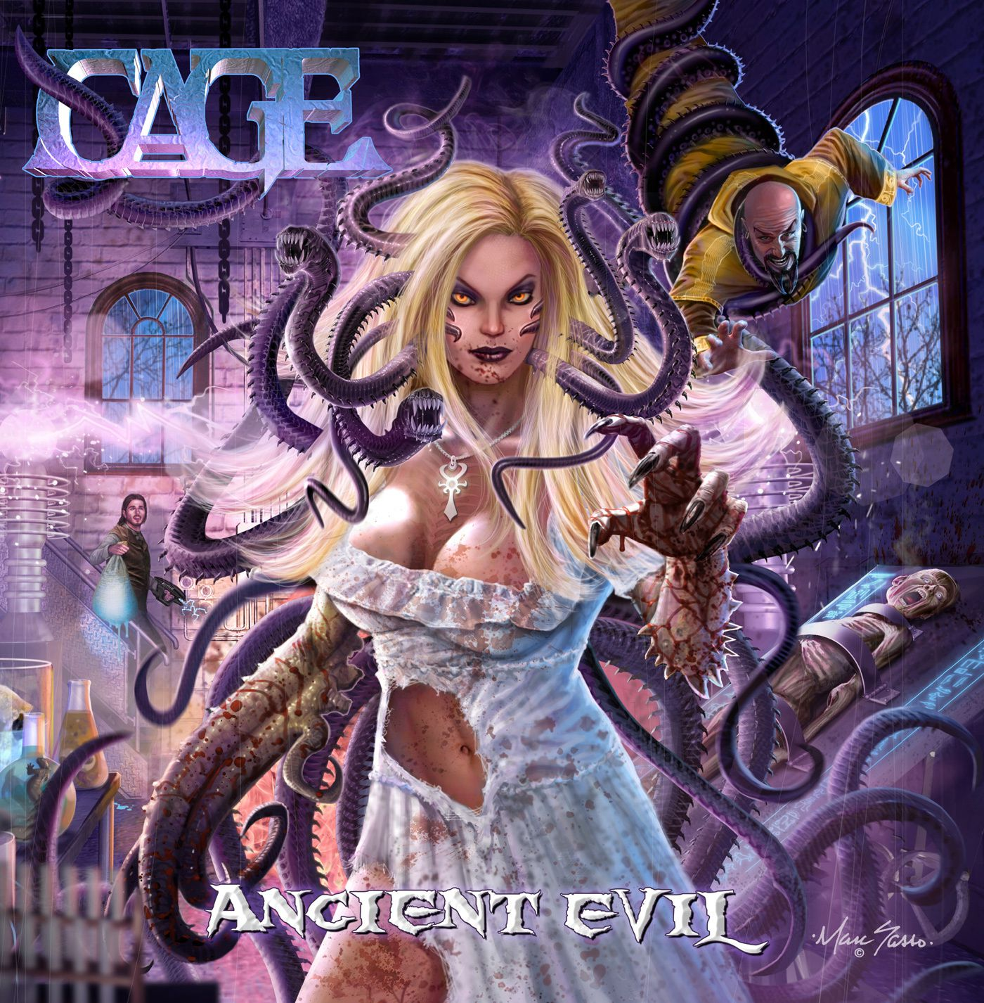 """CD review CAGE """"Ancient Evil"""""""