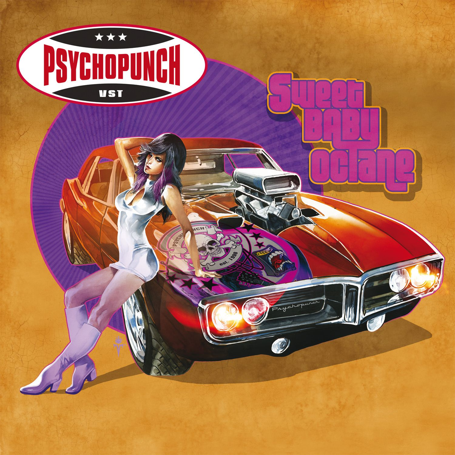 """CD review PSYCHOPUNCH """"Sweet Baby Octane"""""""