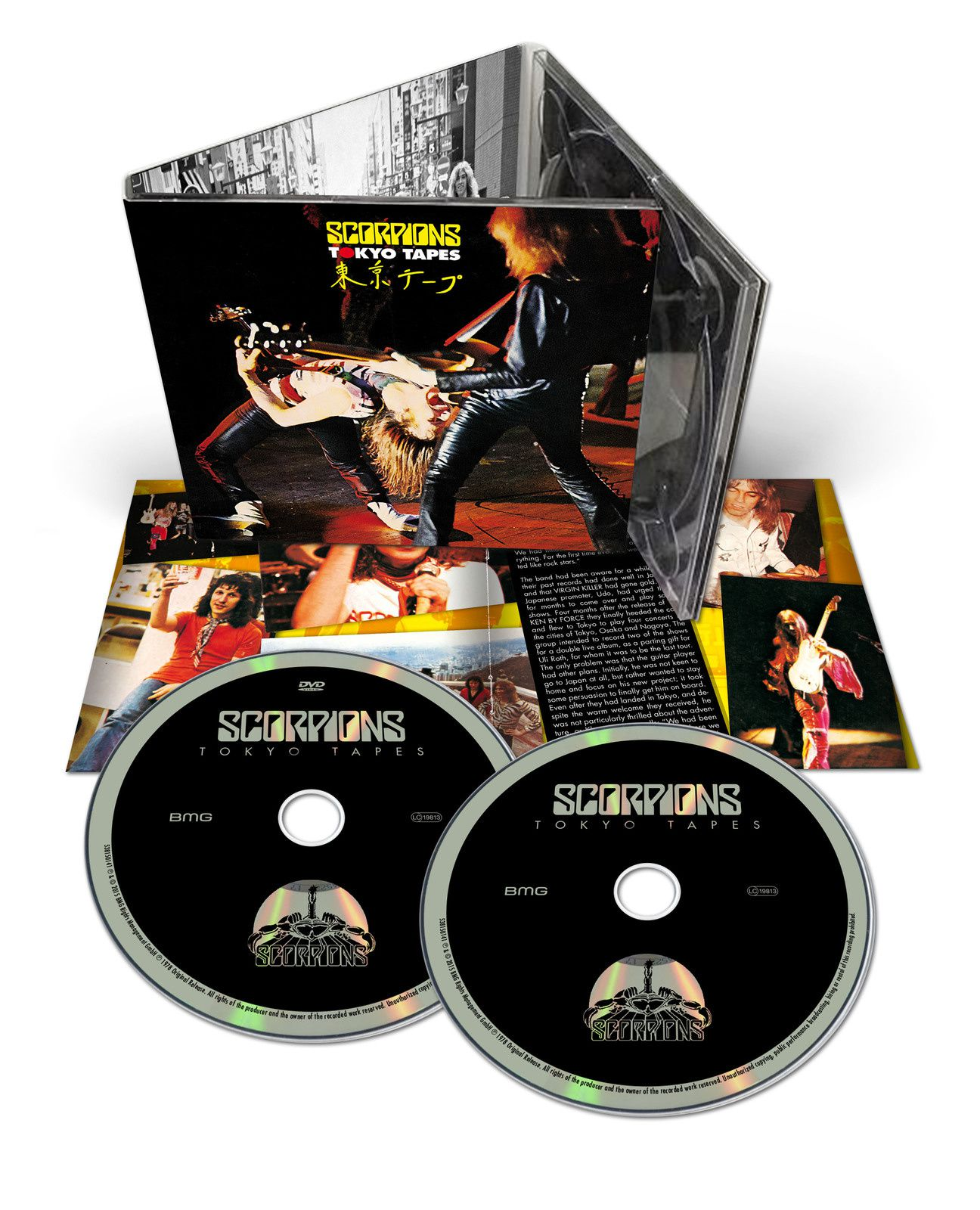 """CD review SCORPIONS """"Tokyo Tapes"""" 50th Anniversary Deluxe Edition"""