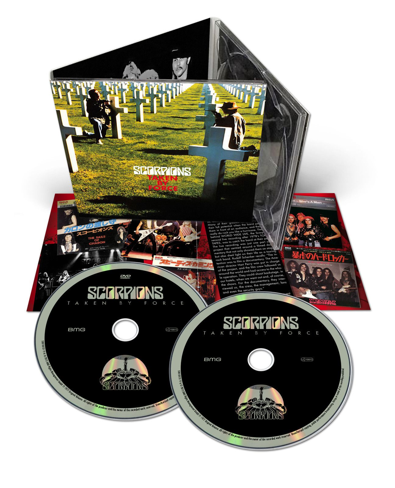 """CD review SCORPIONS """"Taken by Force"""" 50th Anniversary Deluxe Edition"""