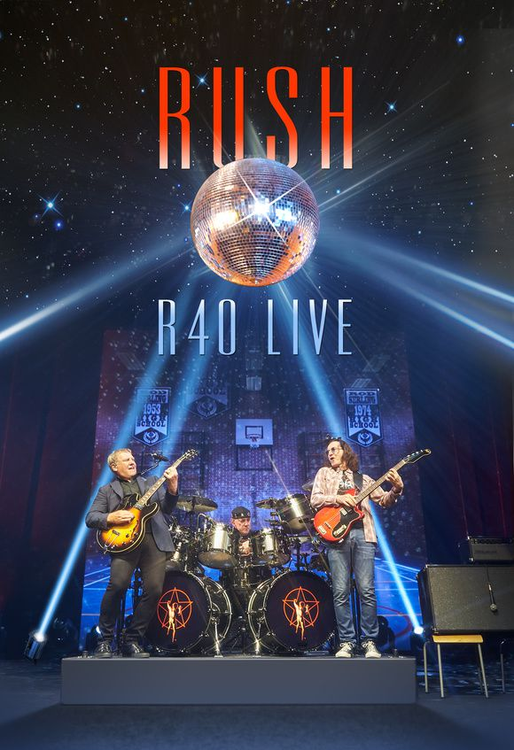 "RUSH releases ""R40 Live"" end of November this year"