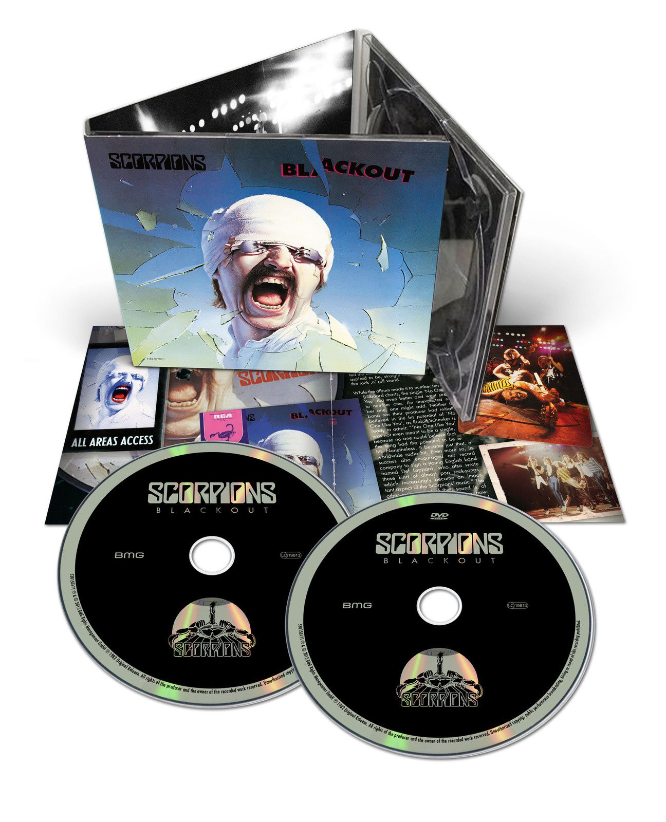 """CD review SCORPIONS """"Blackout"""" 50th Anniversary Deluxe Edition"""