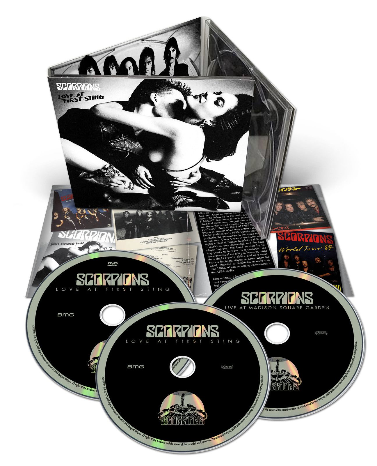 """CD review SCORPIONS """"Love At First Sting"""" 50th Anniversary Deluxe Edition"""