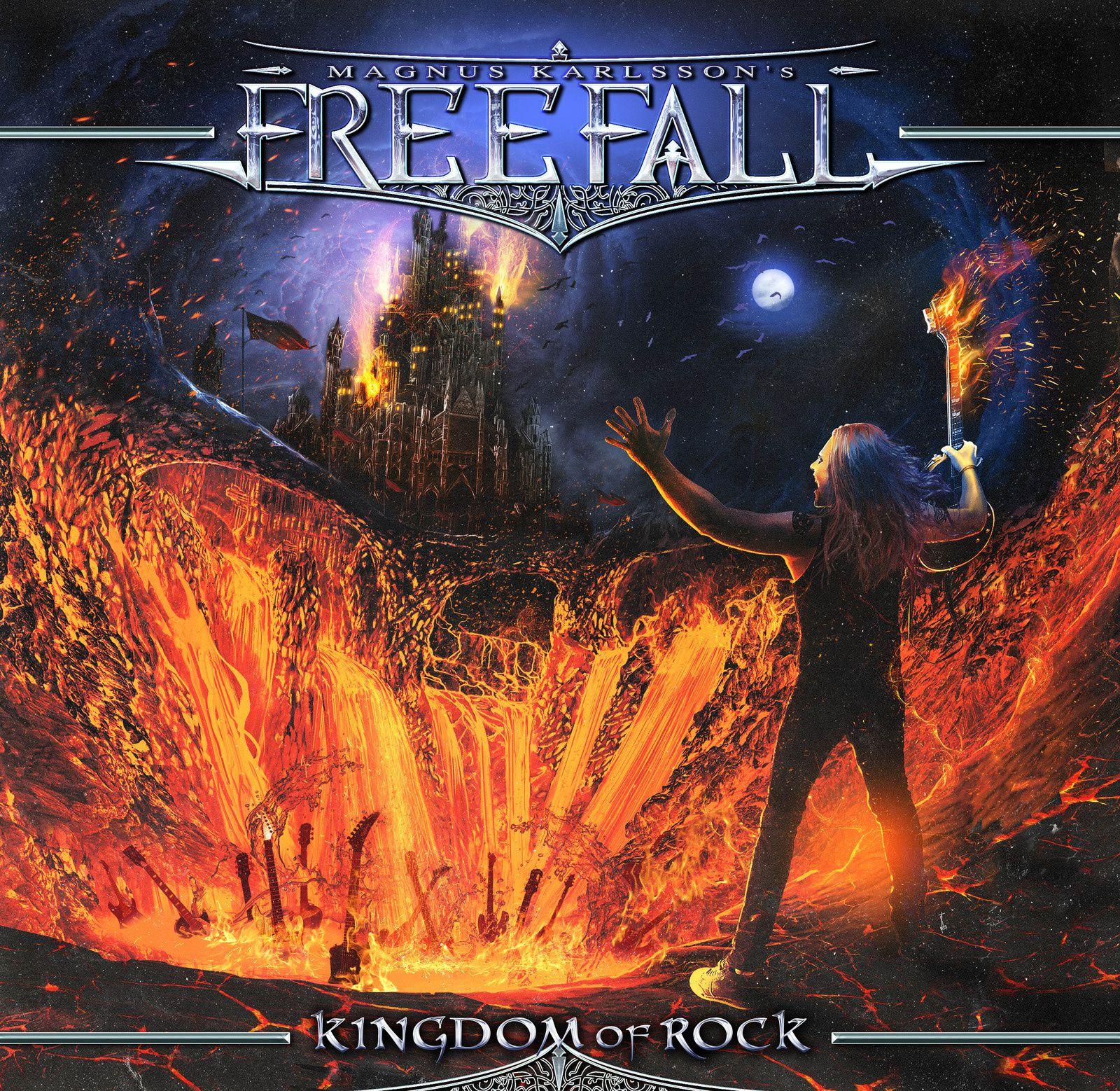 "CD review MAGNUS KARLSSON'S FREE FALL ""Kingdom of Rock"""