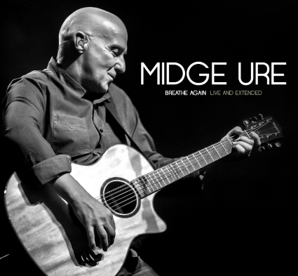 """CD review MIDGE URE """"Breathe Again: Live and Extended"""""""
