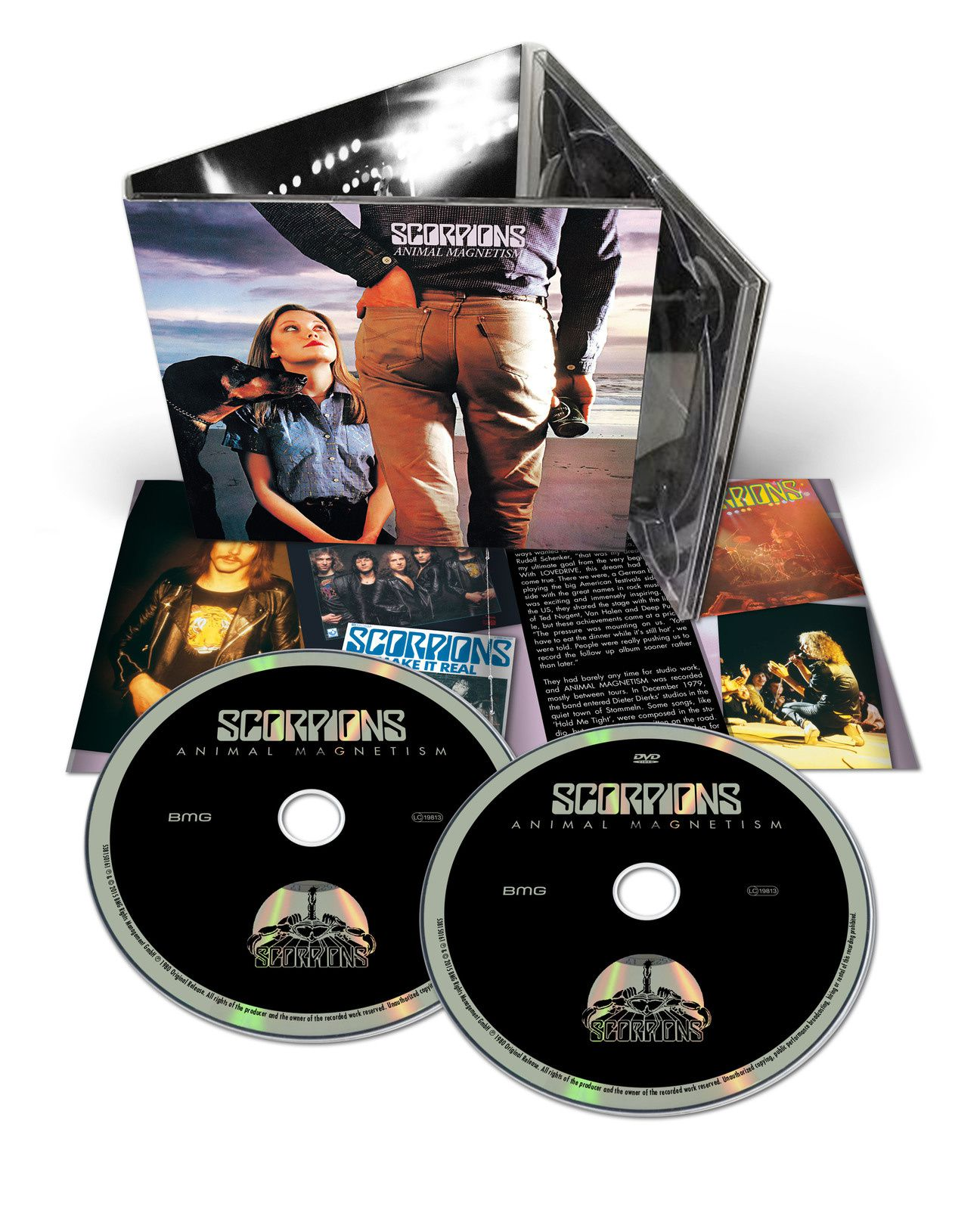 """CD review SCORPIONS """"Animal Magnetism"""" 50th Anniversary Edition"""