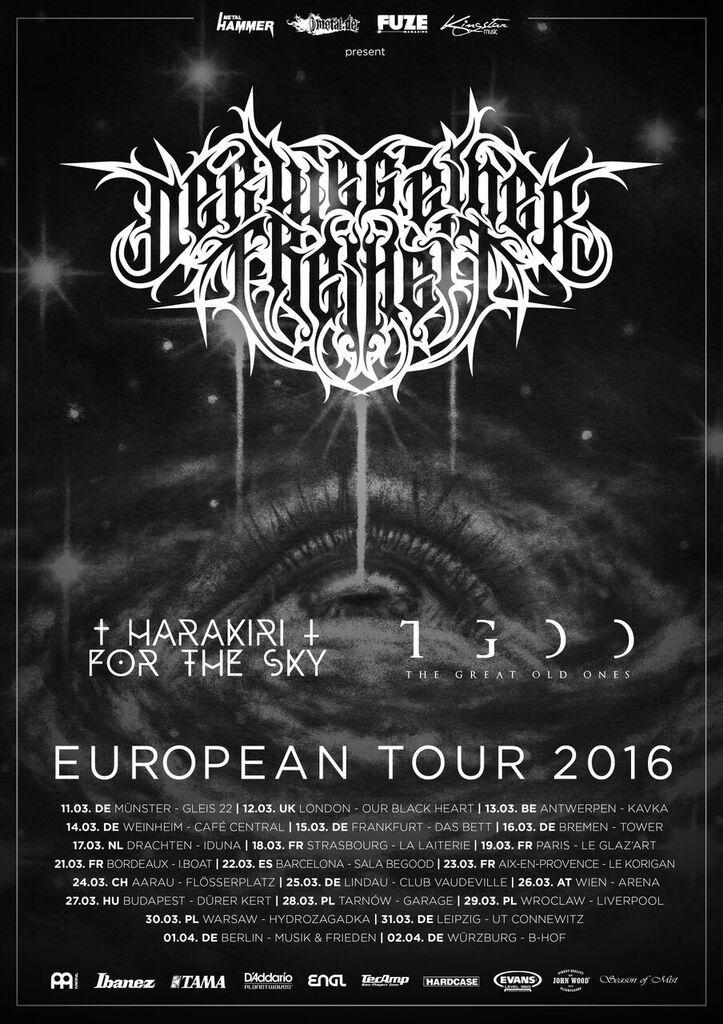 DER WEG EINER FREIHEIT embarks on a tour of Europe