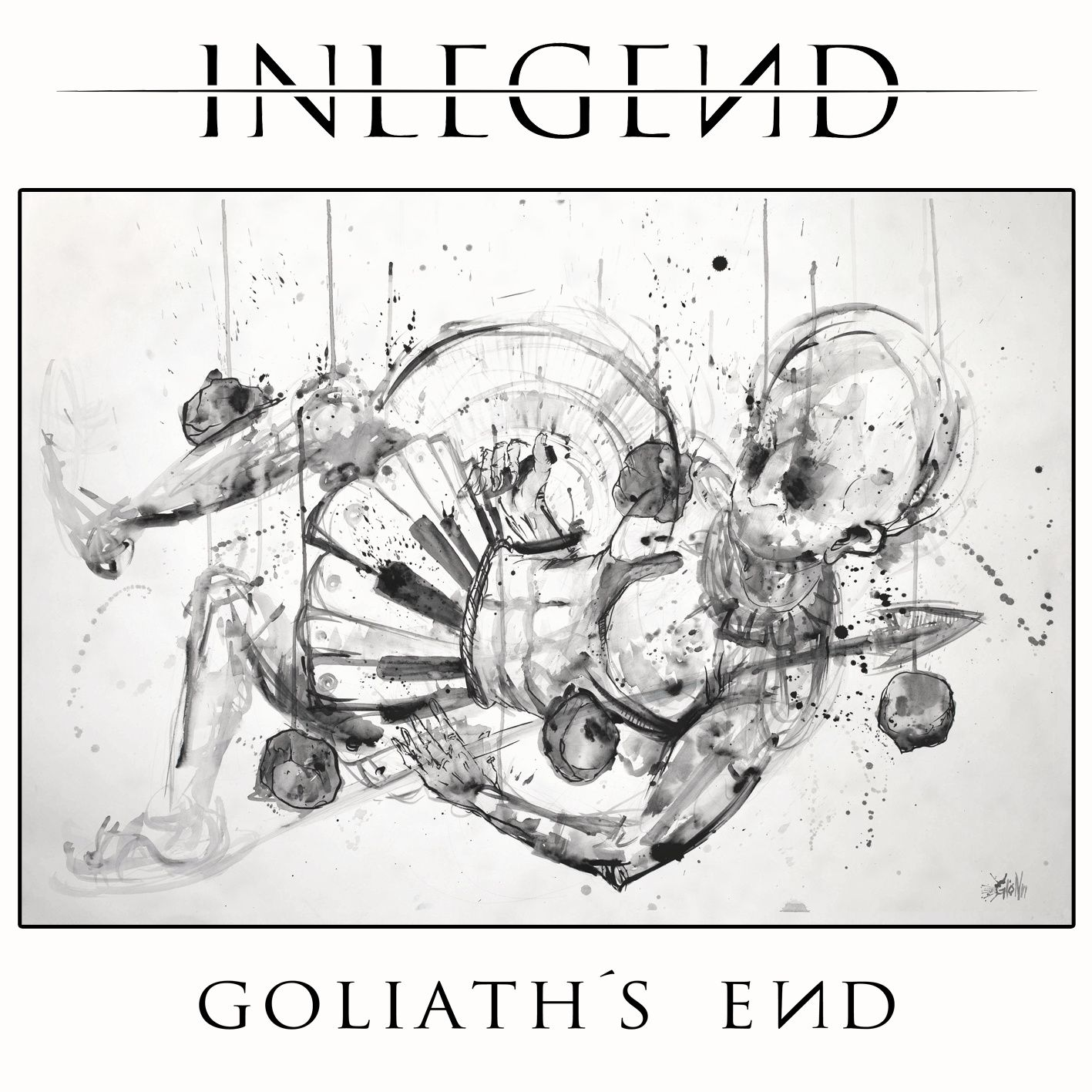"""CD review INLEGEND """"Goliath's End"""""""