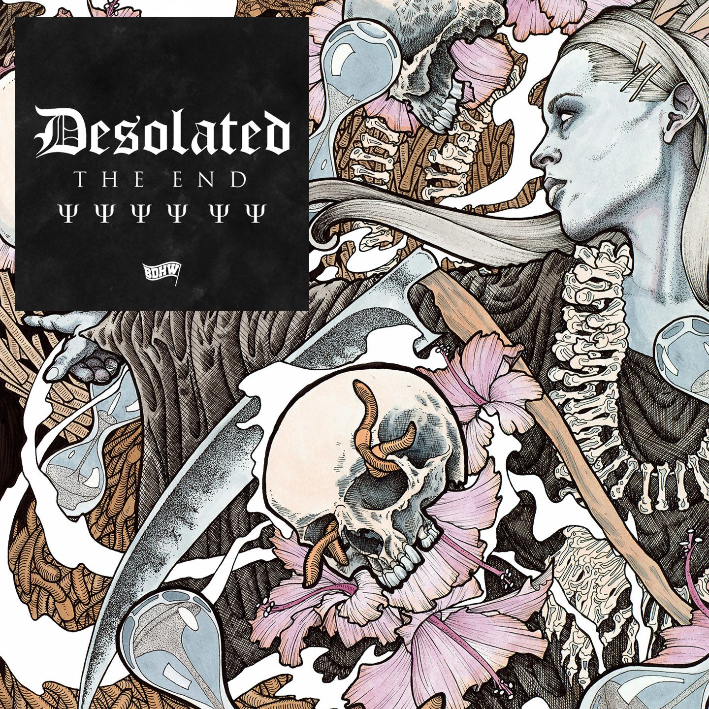 """CD review DESOLATED """"The End"""""""