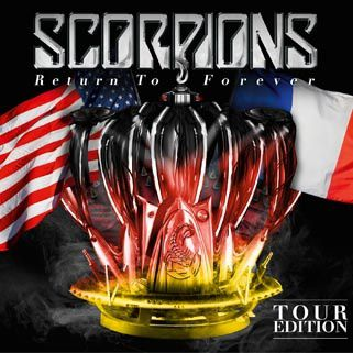 "SCORPIONS release special tour editon of ""Return to Forever"""