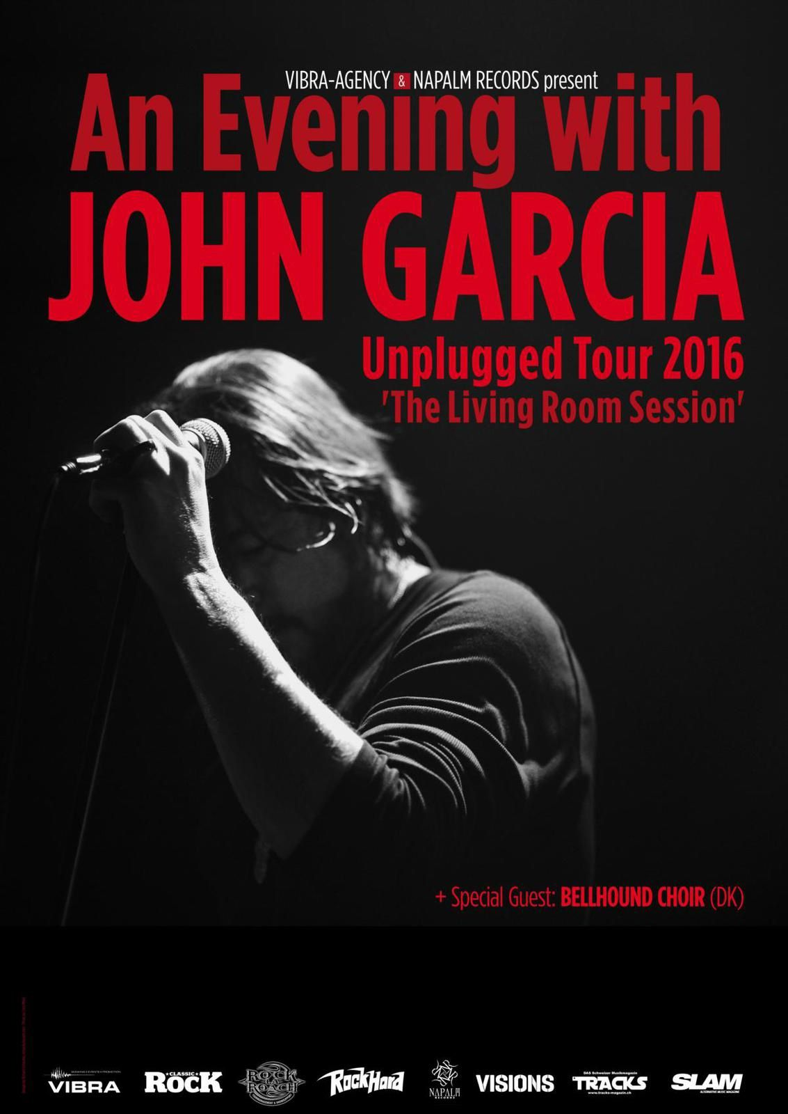JOHN GARCIA acoustic tour dates