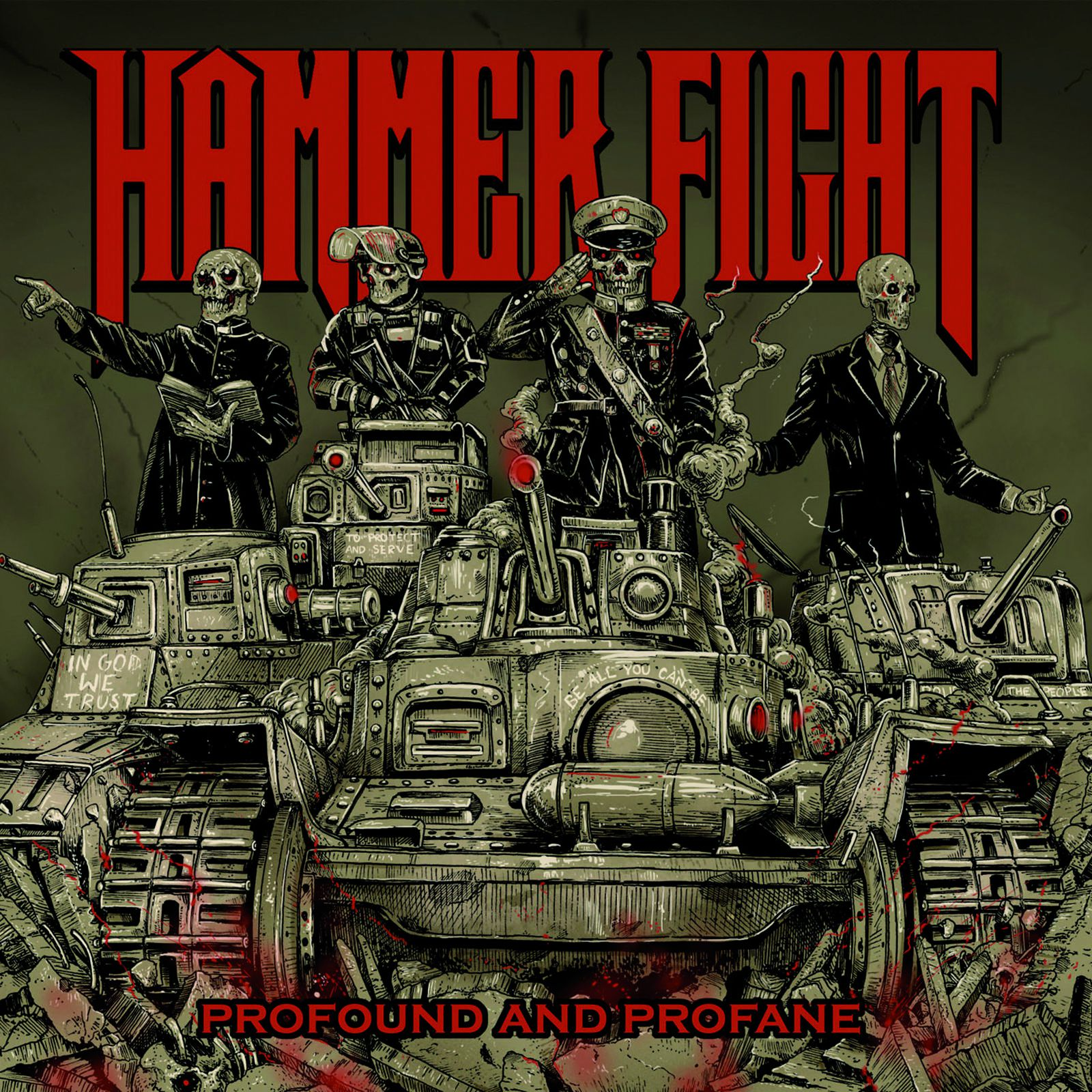 """CD review HAMMER FIGHT """"Profound and Profane"""""""