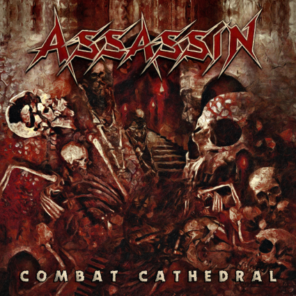 "CD review ASSASSIN ""Combat Cathedral"""