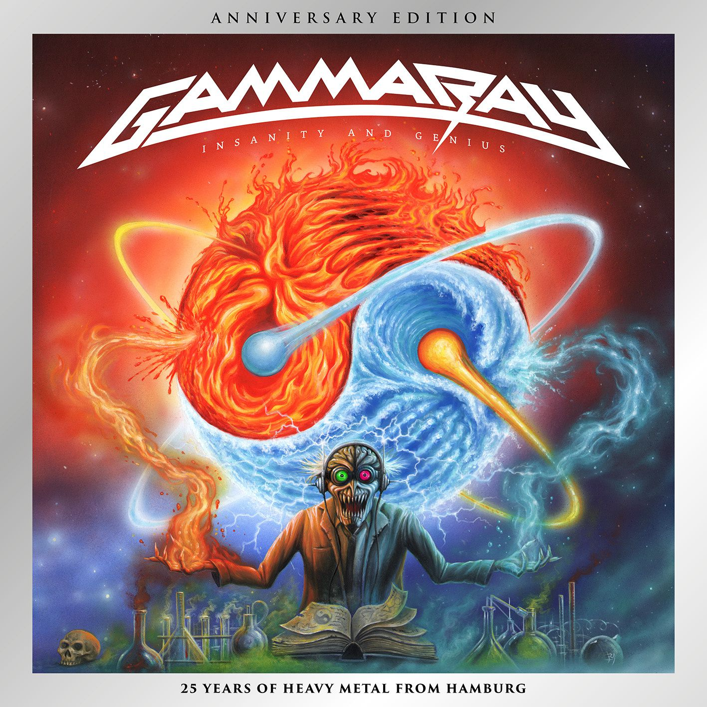 "CD review GAMMA RAY ""Insanity and Genius"" (Anniversary Edition)"