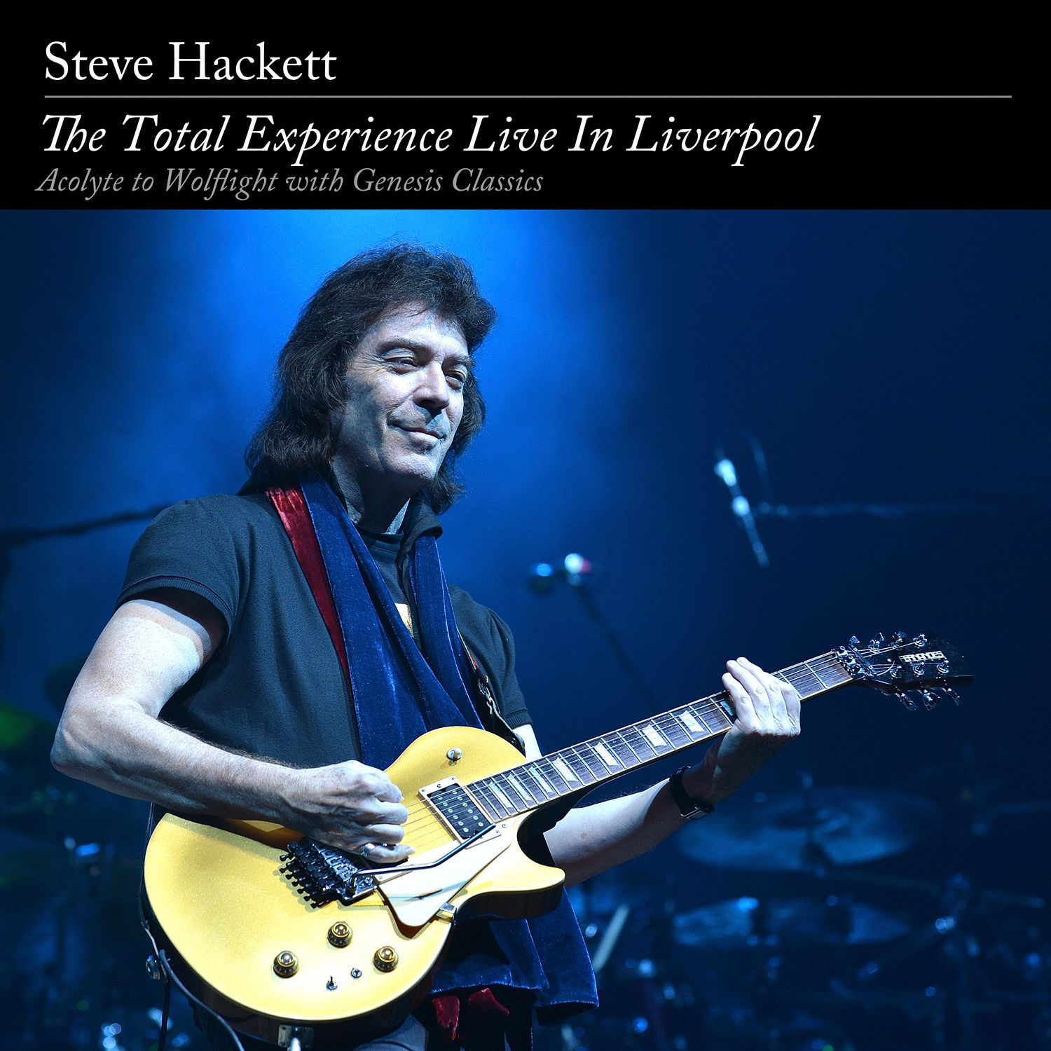 "CD/DVD review STEVE HACKETT ""The Total Experience - Live in Liverpool"""