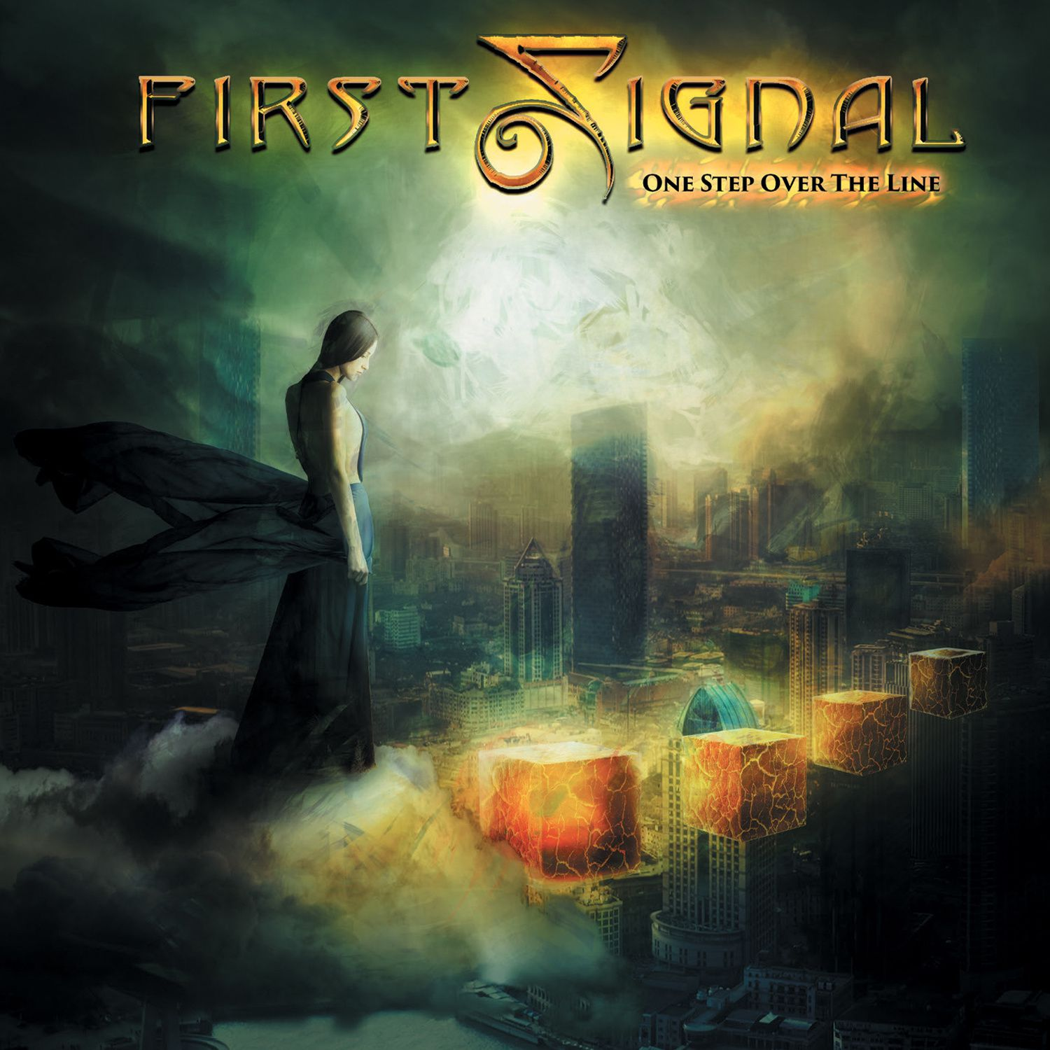 """CD review FIRST SIGNAL """"One Step Over the Line"""""""