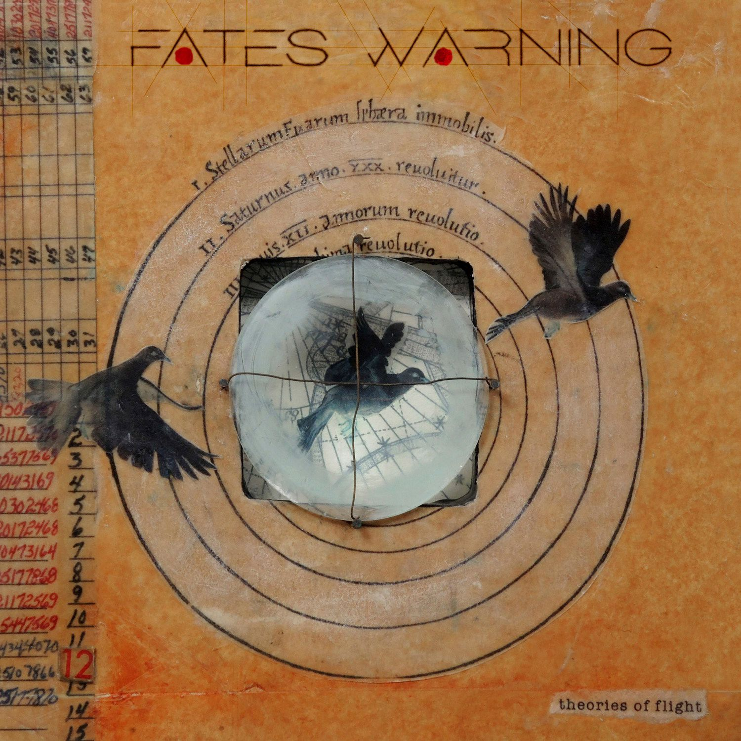 """CD review FATES WARNING """"Theories of Flight"""""""