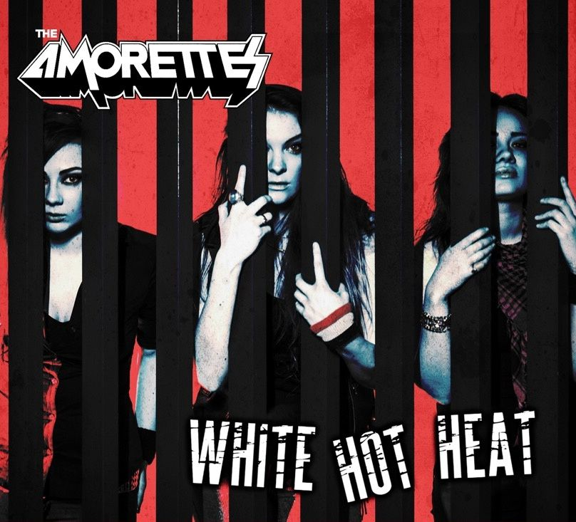"""CD review THE AMORETTES """"""""White Hot Heat"""""""