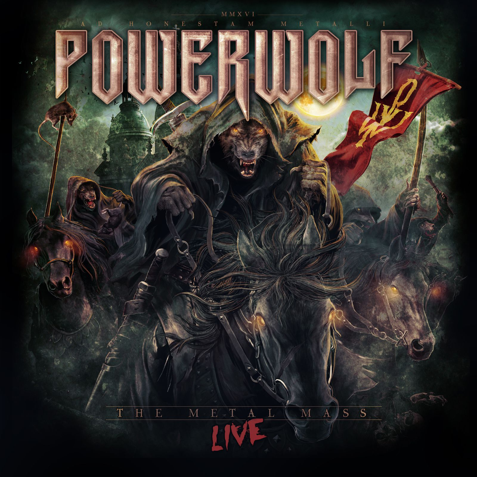 "CD review POWERWOLF ""The Metal Mass Live"""