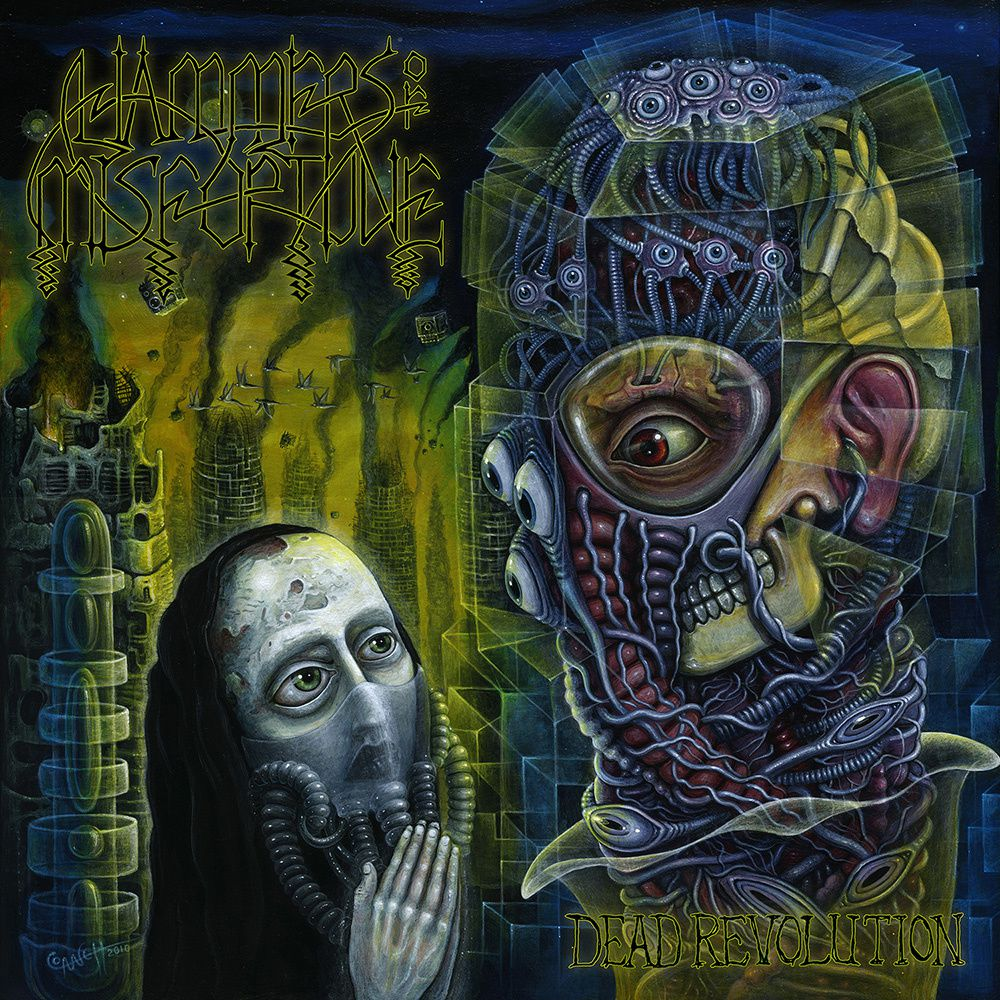 "CD review HAMMERS OF MISFORTUNE ""Dead Revolution"""