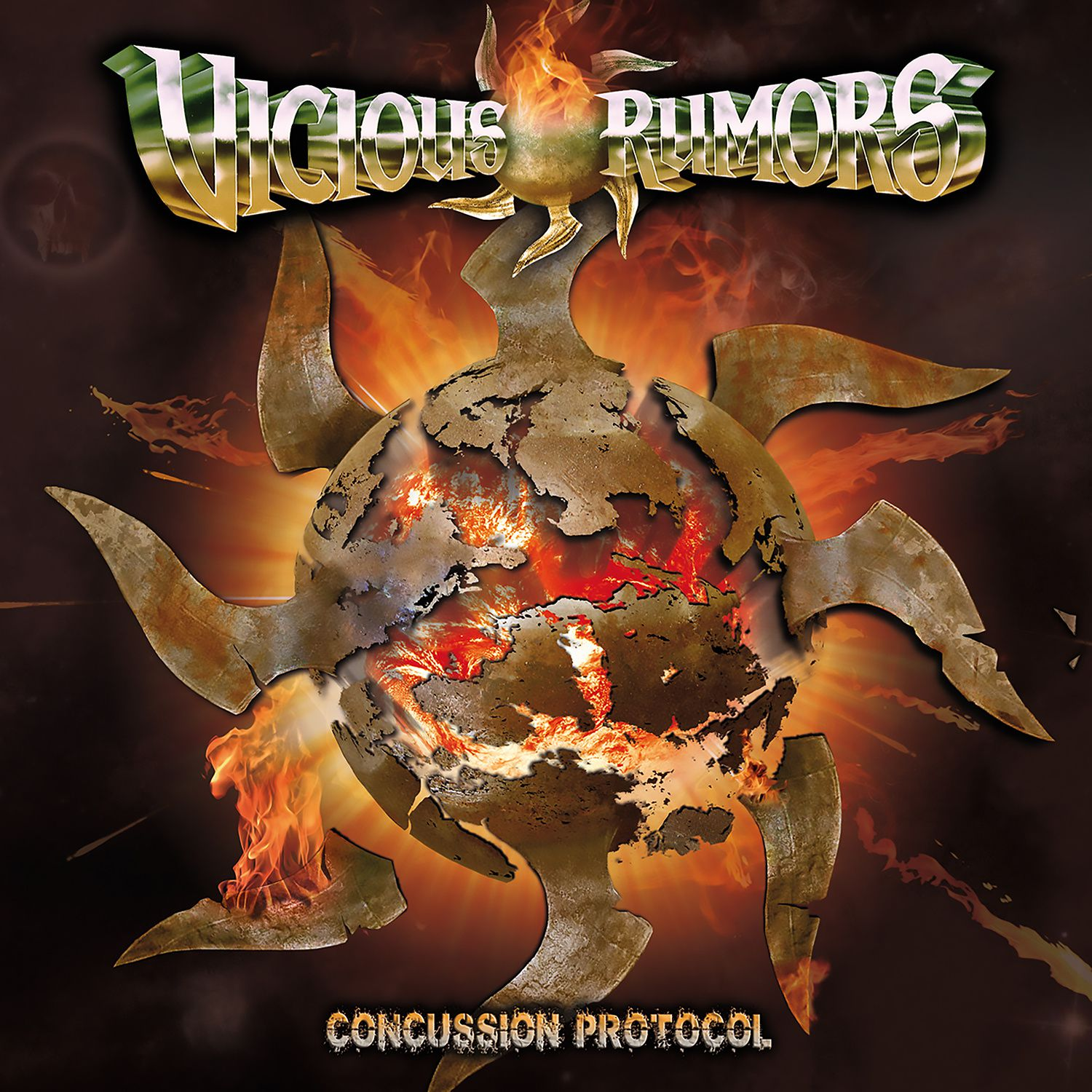 """CD review VICIOUS RUMORS """"Concussion Protocol"""""""