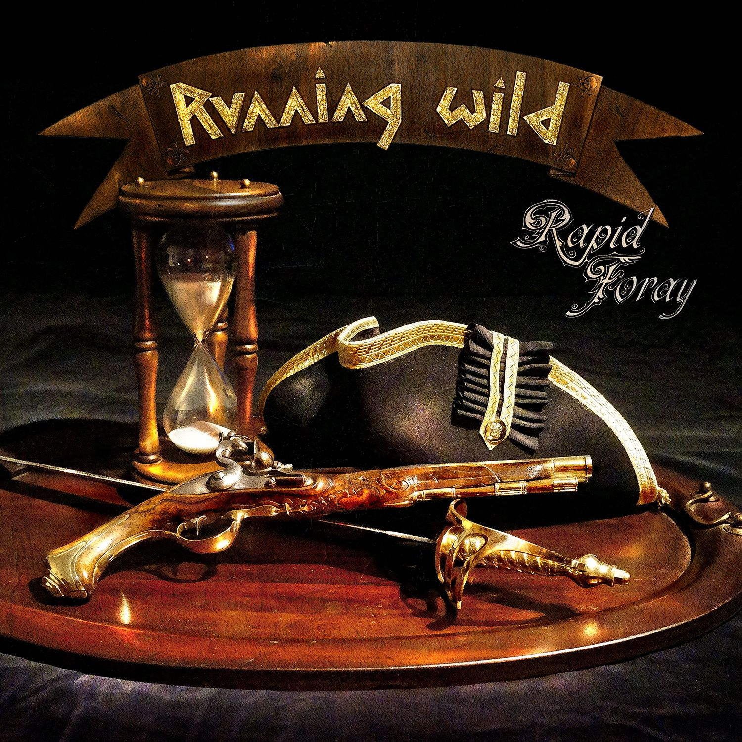 "CD review RUNNING WILD ""Rapid Foray"""