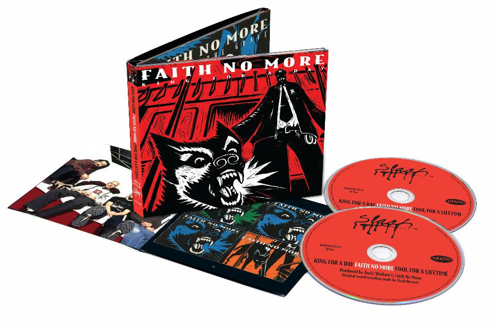 """FAITH NO MORE re-releases """"King for a Day"""" and """"Album of the Year"""""""