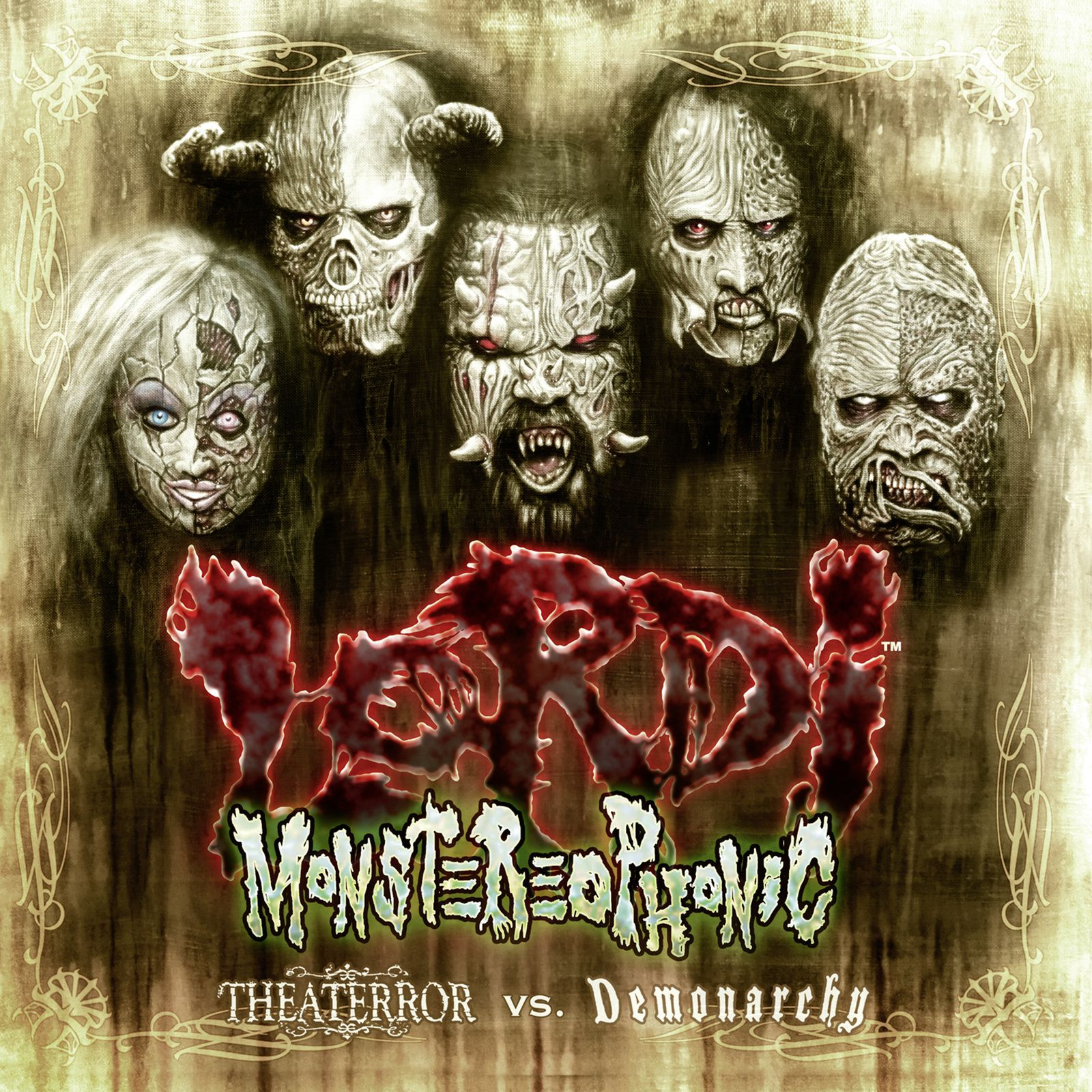 """CD review LORDI """"Monstereophonic - Theaterror vs Demonarchy"""""""