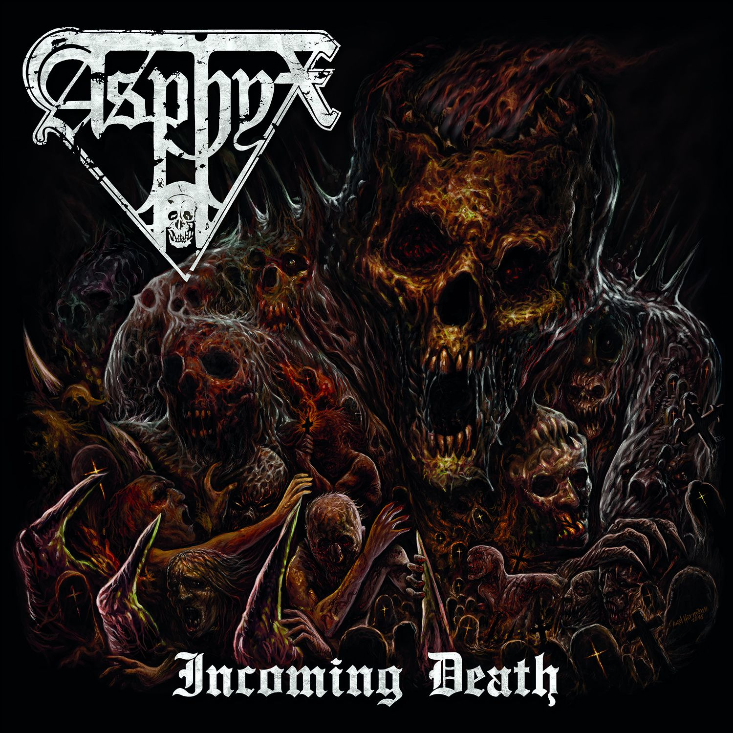"""CD review ASPHYX """"Incoming Death"""""""