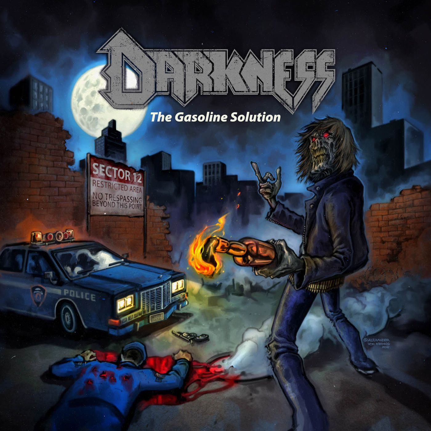 """CD review DARKNESS """"The Gasoline Solution"""""""