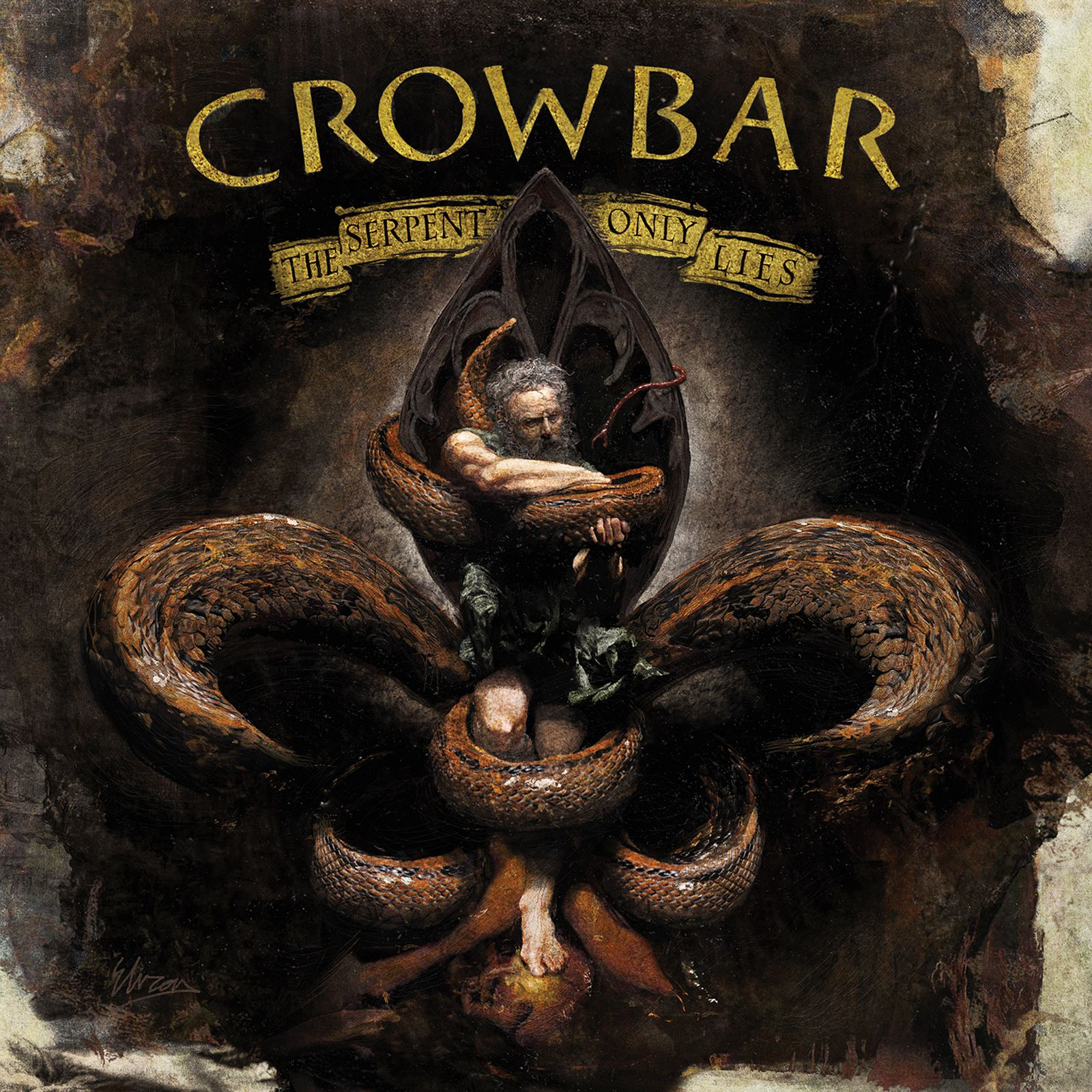 "CD review CROWBAR ""The Serpent only Lies"""