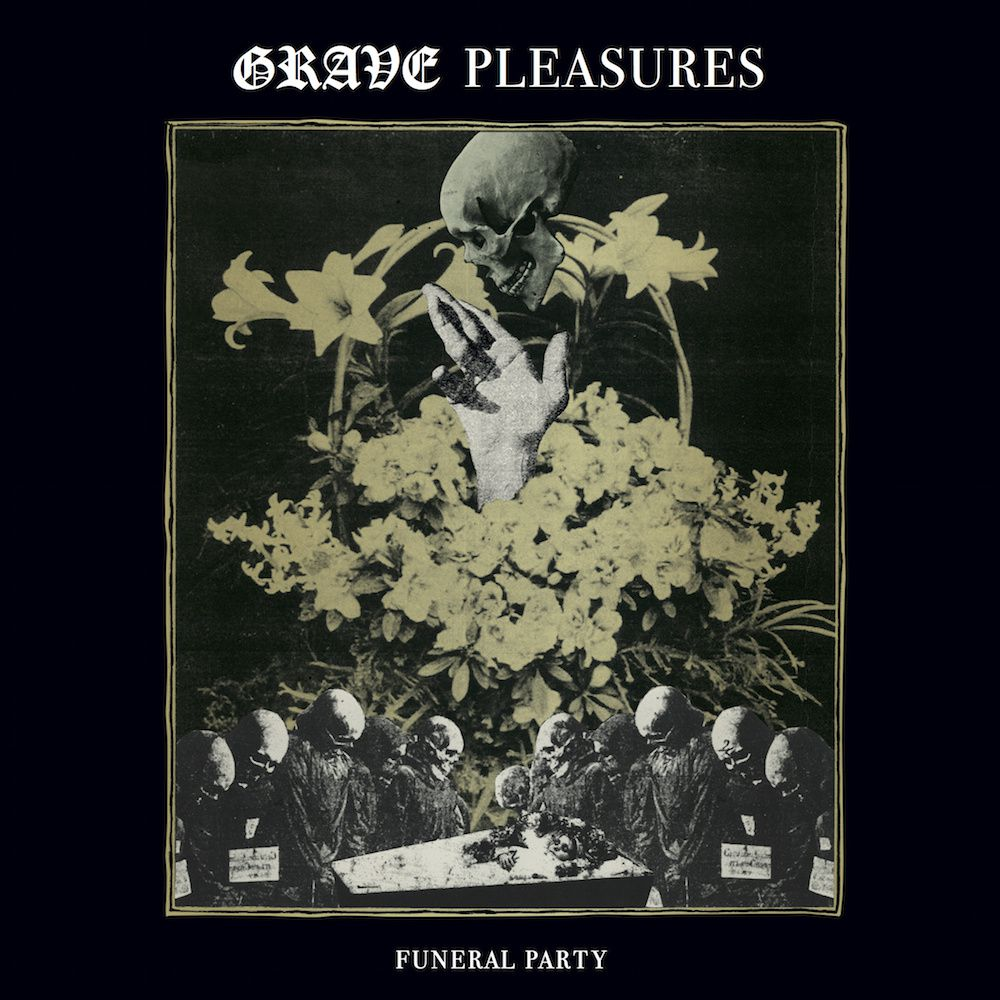 """New 7"""" from GRAVE PLEASURES"""