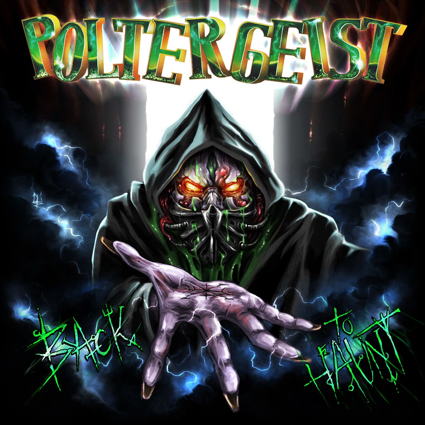 "CD review POLTERGEIST ""Back to Haunt"""