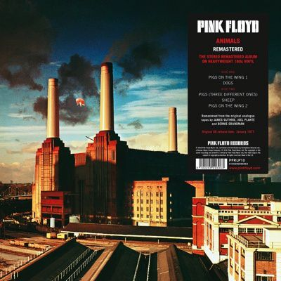 """LP review PINK FLOYD """"Animals"""" - re-issue"""
