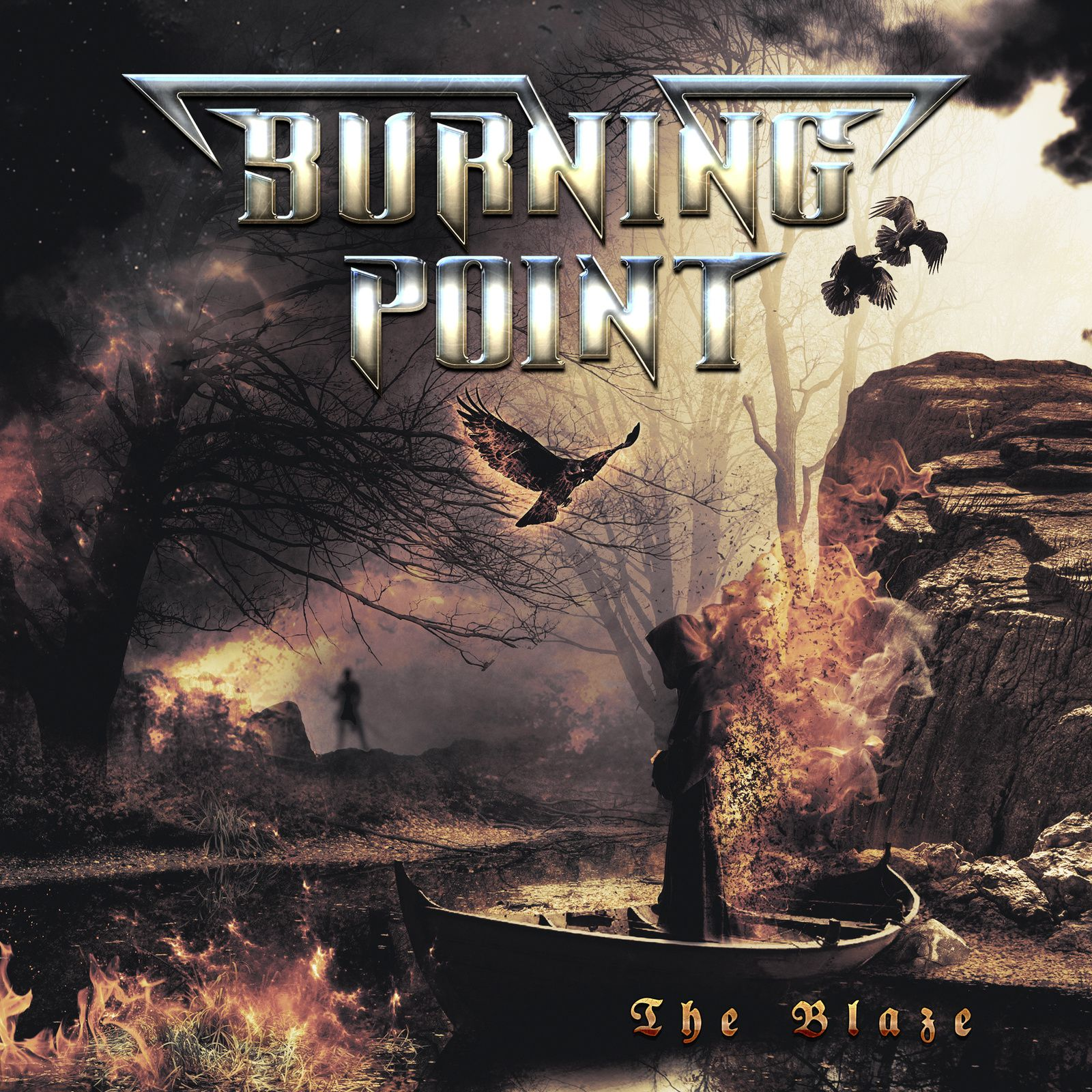 """CD review BURNING POINT """"The Blaze"""""""