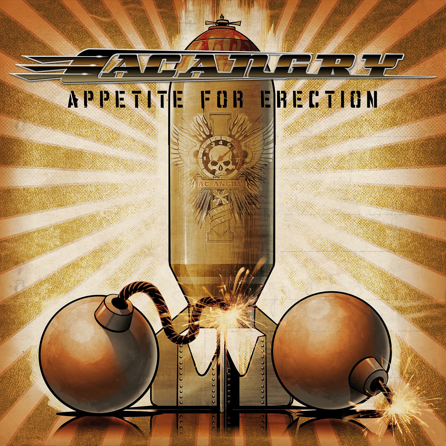 "CD review AC ANGRY ""Appetite for Erection"""