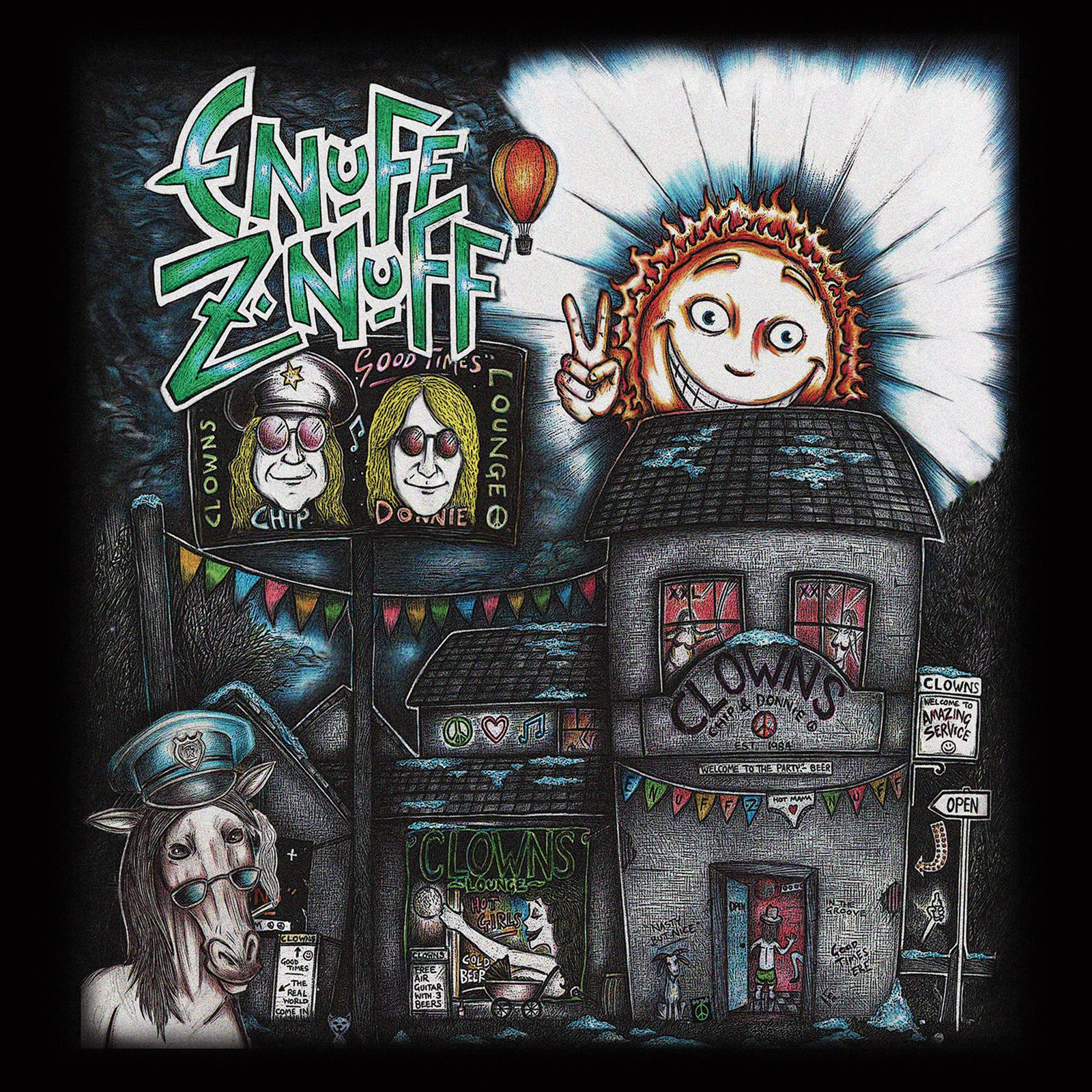 """CD review ENUFF Z'NUFF """"Clowns Lounge"""""""