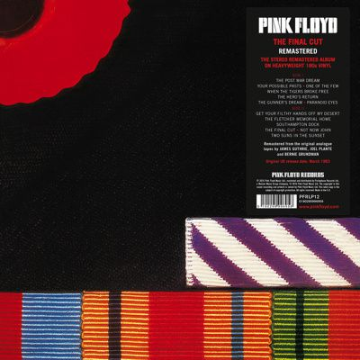 """PINK FLOYD's """"The Final Cut"""" and """"A Momentary Lapse of Reasons"""" on vinyl"""