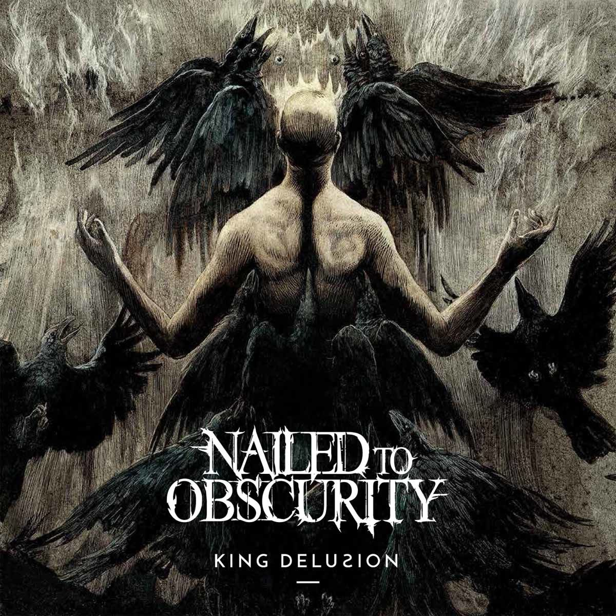 """CD review NAILED TO OBSCURITY """"King Delusion"""""""