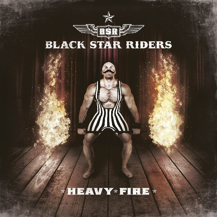 """CD review BLACK STAR RIDERS """"Heavy Fire"""""""