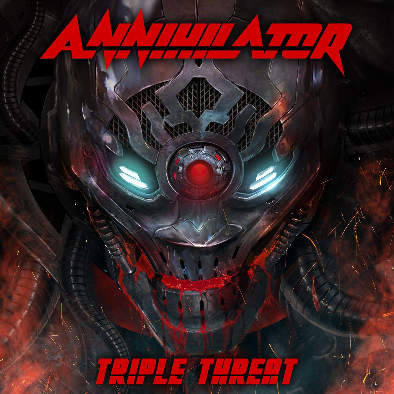 "CD/DVD review ANNIHILATOR ""Triple Threat"""