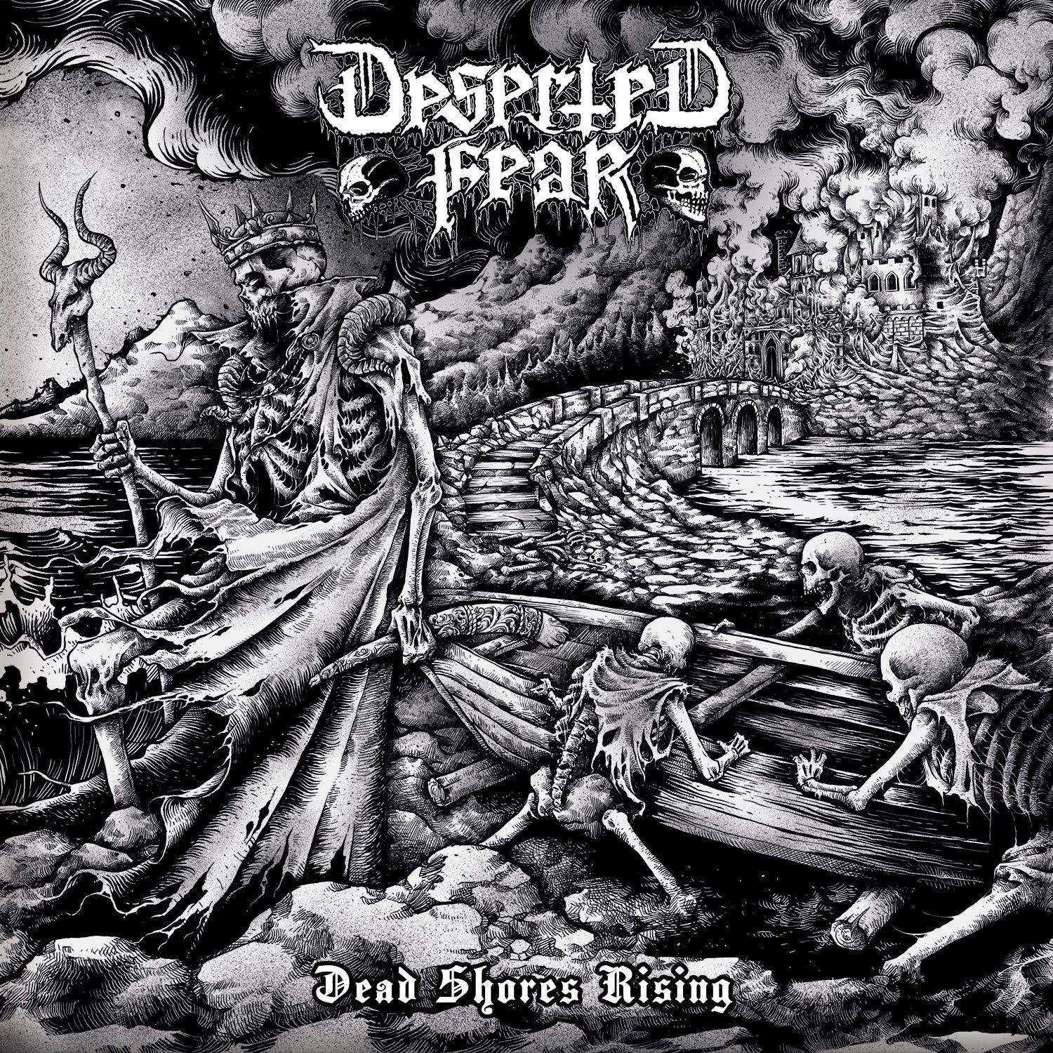"""CD review DESERTED FEAR '""""Dead Shores Rising"""""""