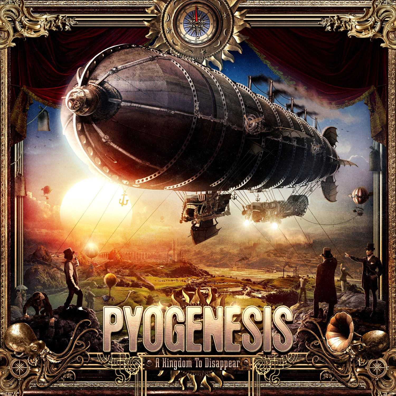 "CD review PYOGENESIS ""A Kingdom to Disappear"""