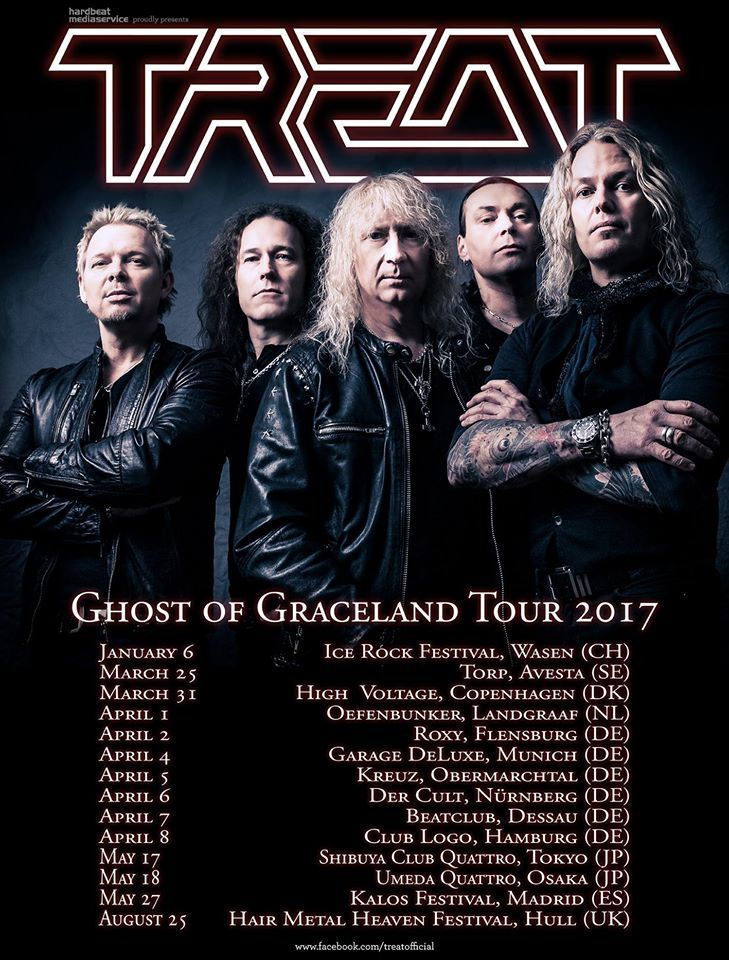 TREAT tour dates for spring 2017