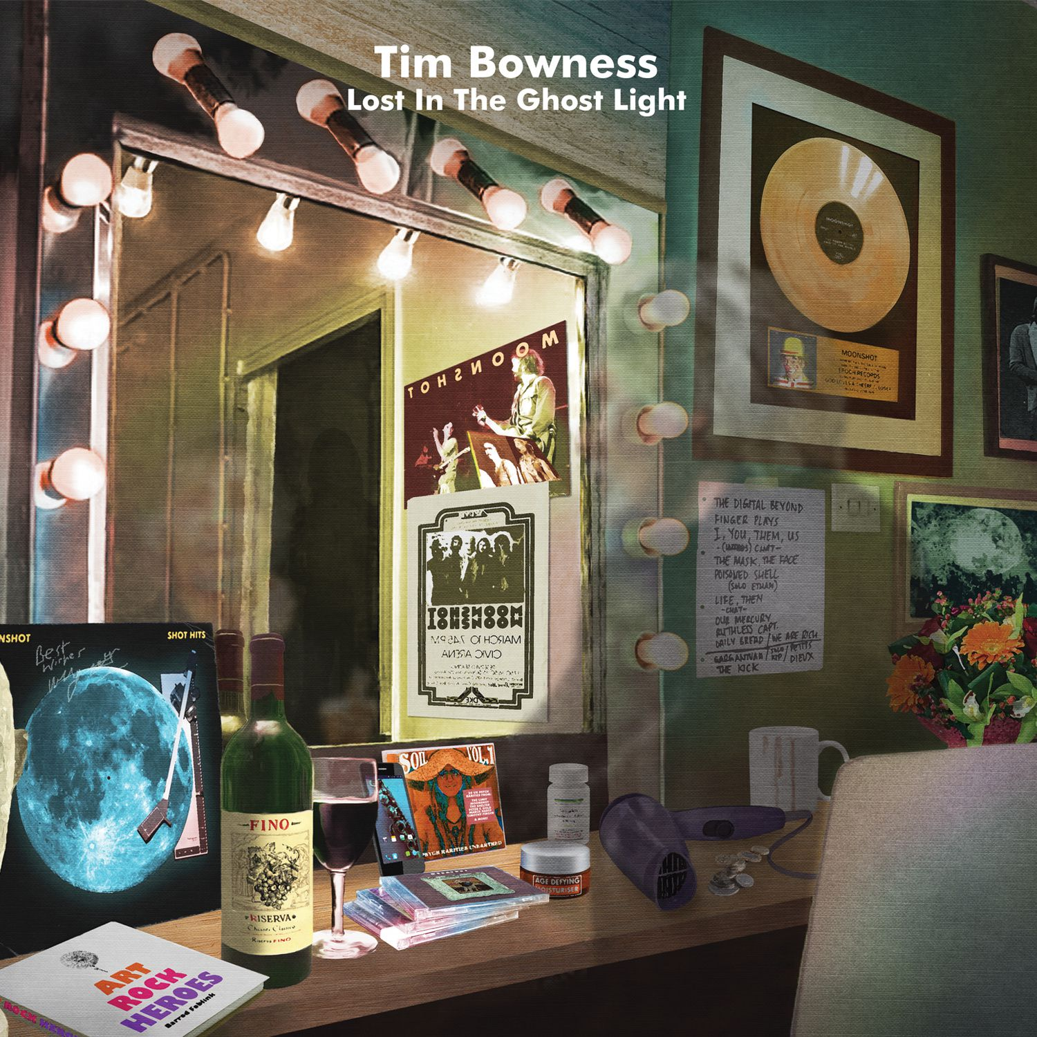 "CD review Tim Bowness ""Lost in the Ghost Light"""