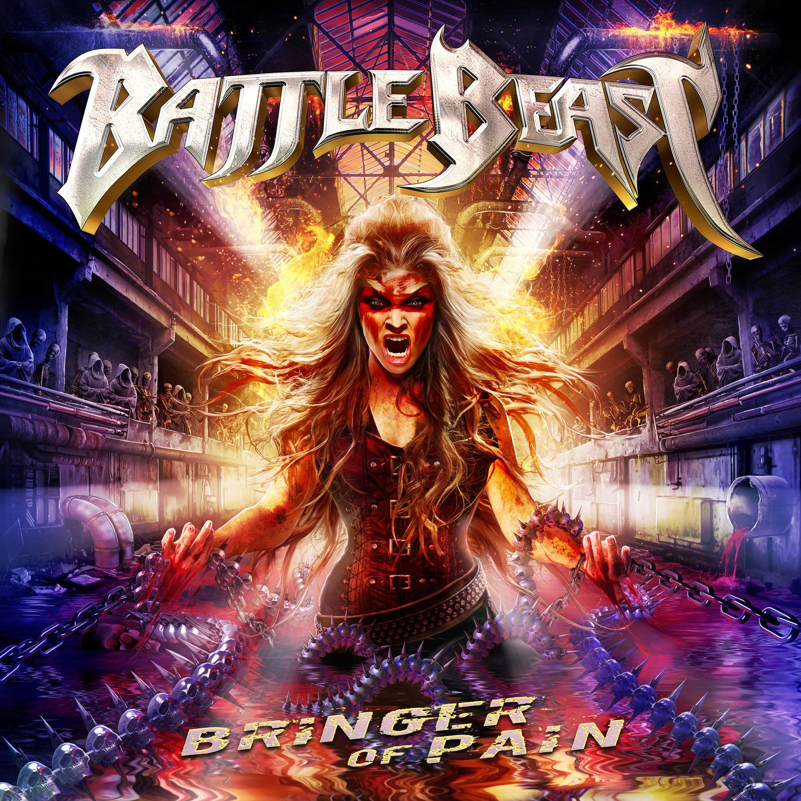 "CD review BATTLE BEAST ""Bringer of Pain"""