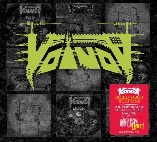 VOIVOD 'Best of ...' and re-issues via 'Noise Lebt!""