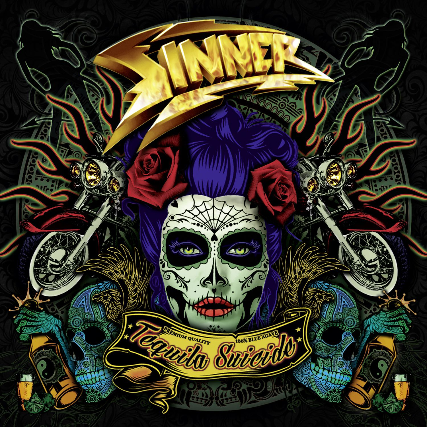 "CD review SINNER ""Tequila Suicide"""