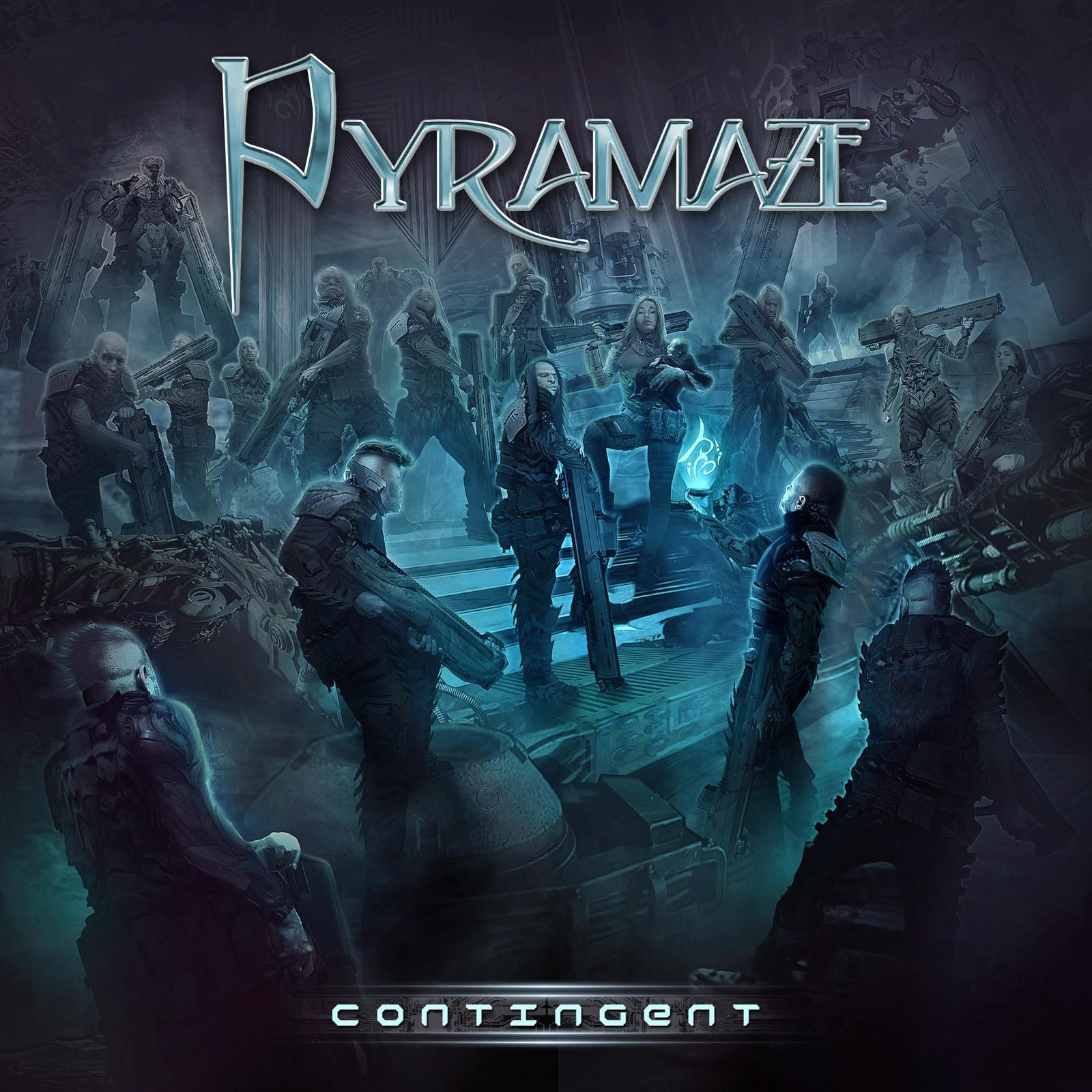 """CD review PYRAMAZE """"Contingent"""""""